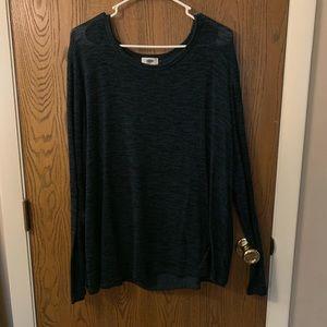 Old Navy green lightweight long sleeved sweater